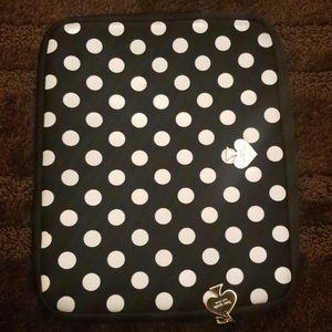 Kate Spade Polka Dot iPad Case